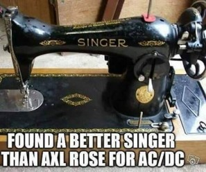 Found a better singer than Axl