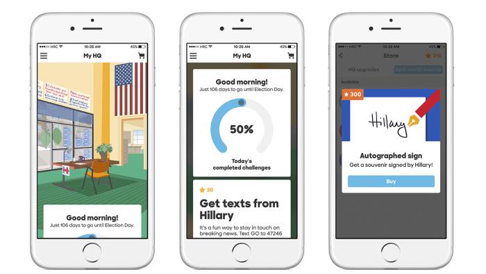 US-Wahlkampf mit Gamification: Hillary setzt aufs Smartphone