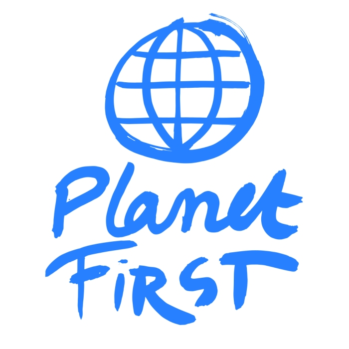 You can put the Planet First and#SuckItUp!